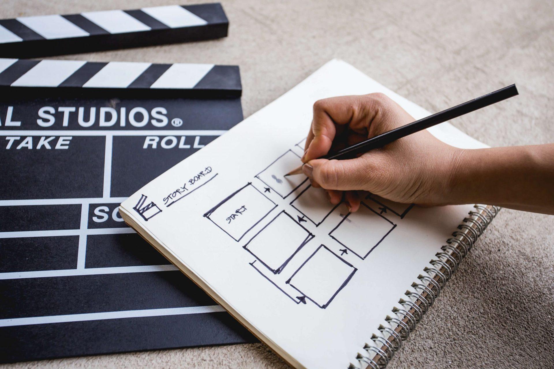 produzir vídeos