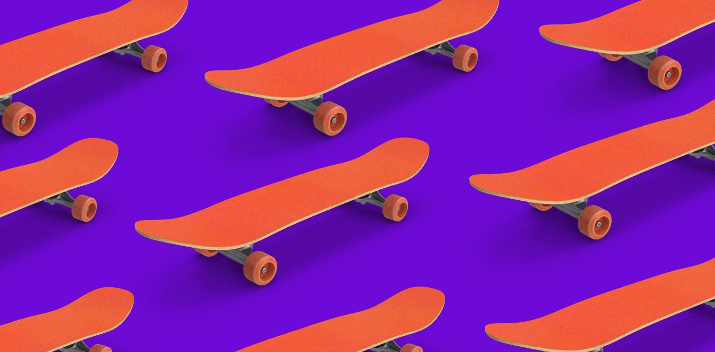 capa para artigo sobre skate usado na olx