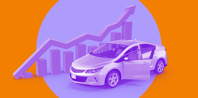 capa para artigo sobre os carros com maior crescimento em vendas no 1º semestre de 2021