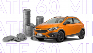capa para artigo sobre carros até 60 mil reais na OLX